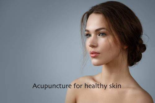 Acupuncture for healthy skin