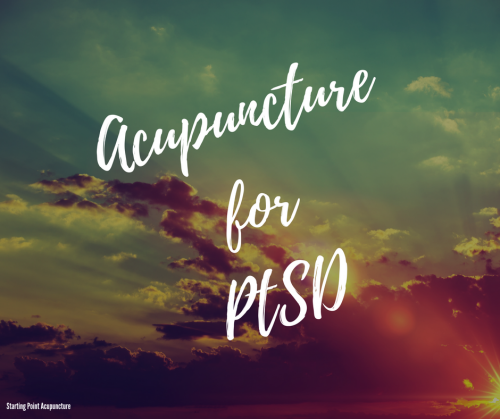 Acupuncture can help PTSD