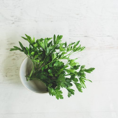 Parsley for health and spring detox