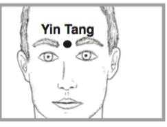 Yintang, stay focused