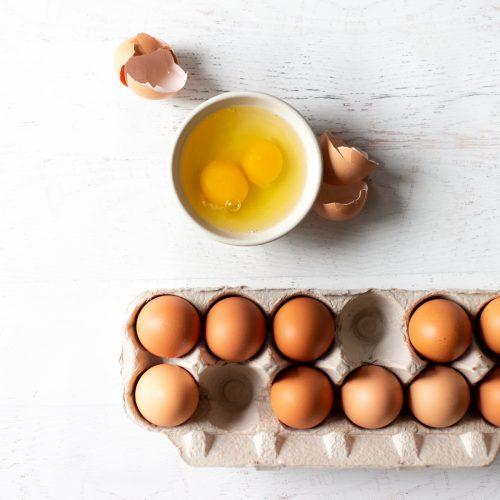 Eggs for enhanced immunity