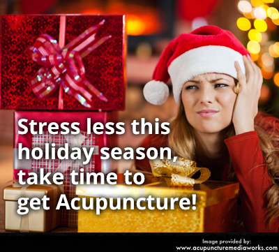Stress-free acupuncture