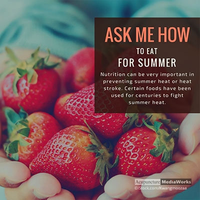 Foods for summer